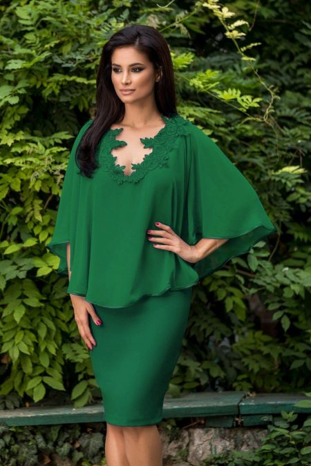 Calliope Green Dress