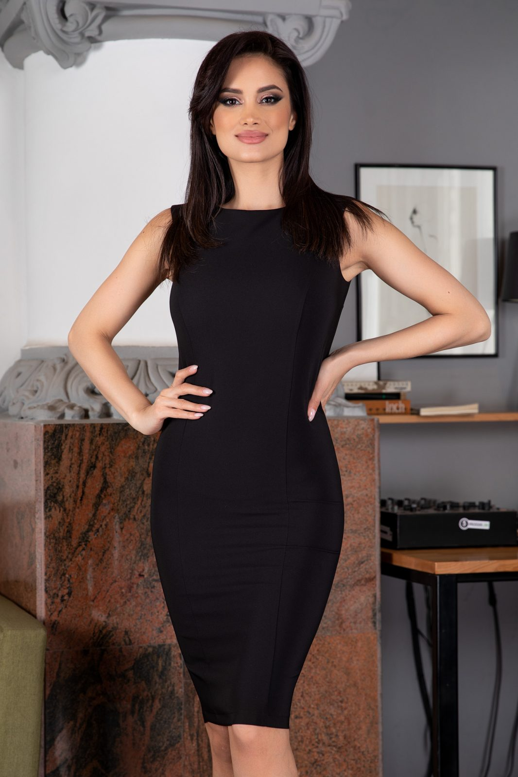 La Donna Astrid Μαύρο Σετ 5277