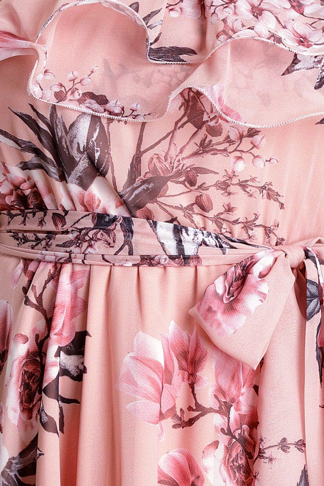 Beatrice Ροζ Φόρεμα 4792