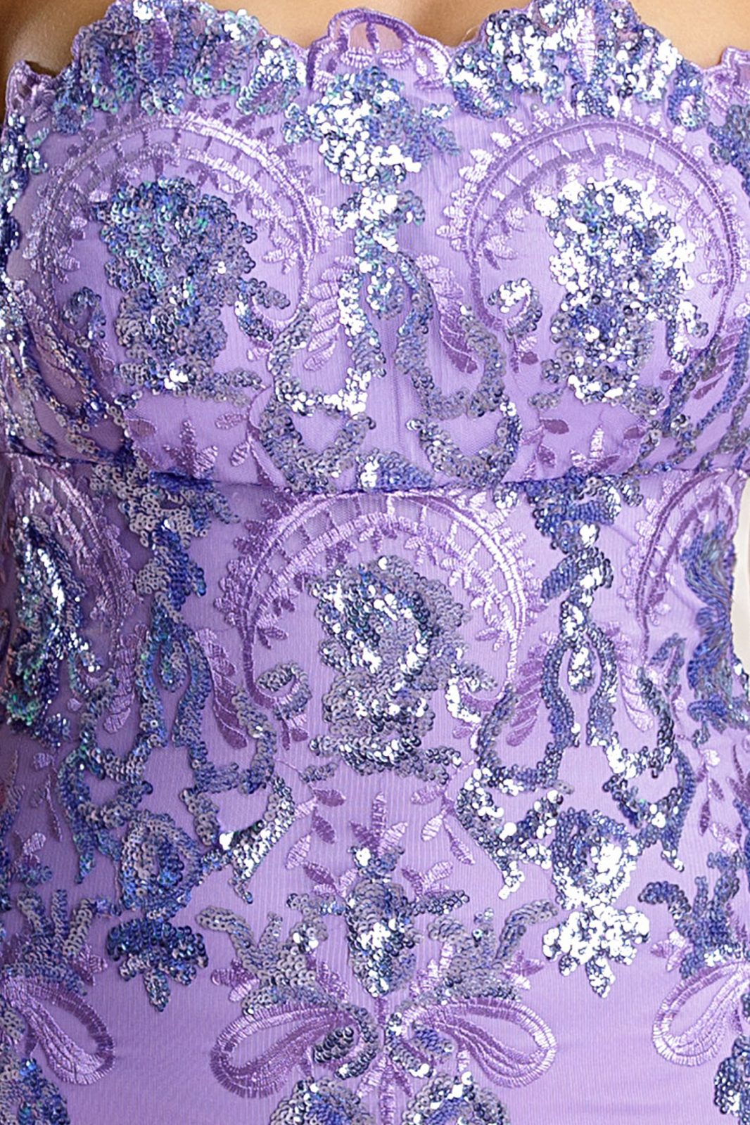 Yudith Λιλά Φόρεμα 4716