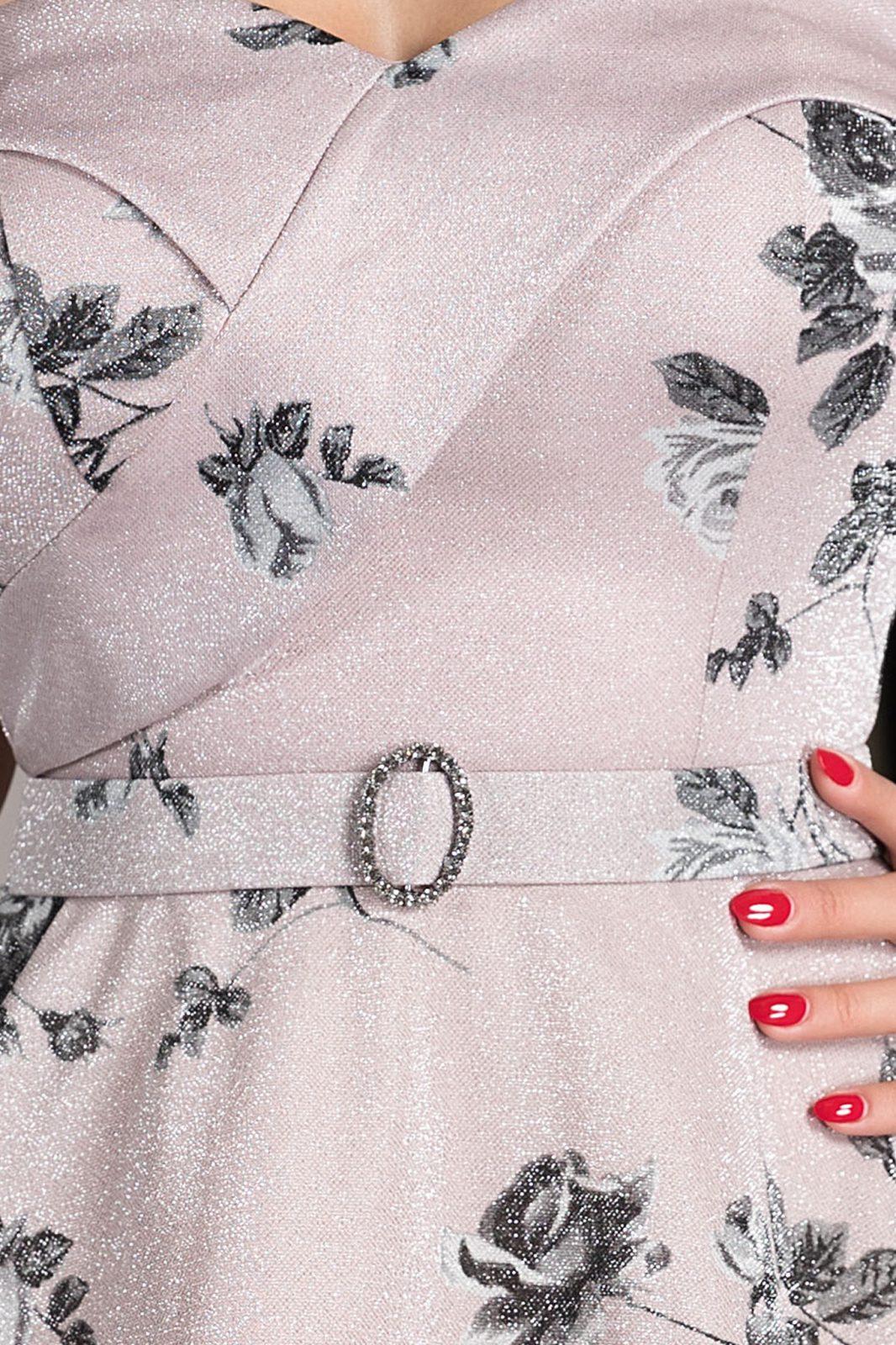 Anima Ροζ Φόρεμα 4622