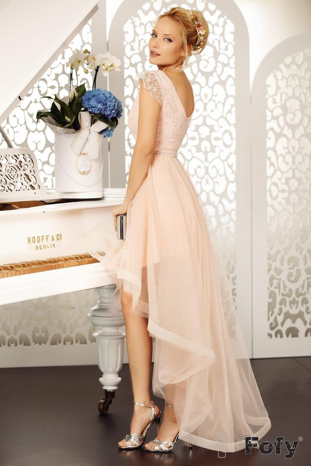 Boema Ροζ Φόρεμα 4677