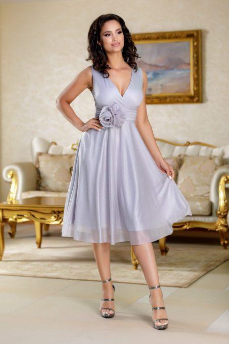 Rosalinda Gray Dress