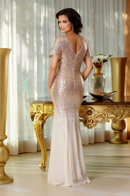 Glamorous Nude Φόρεμα 4701