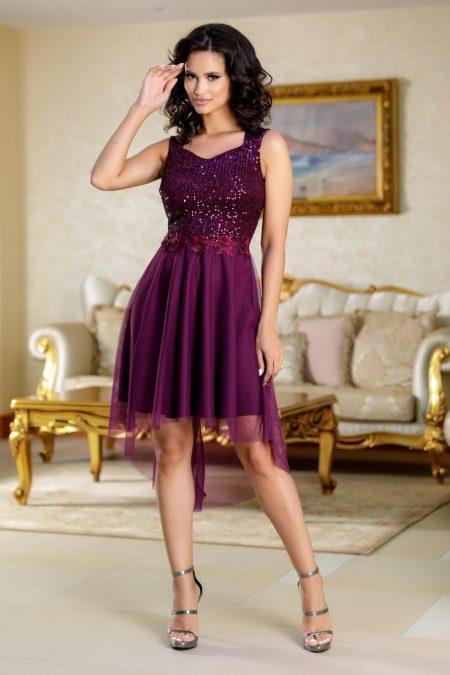 Bekky Purple Dress