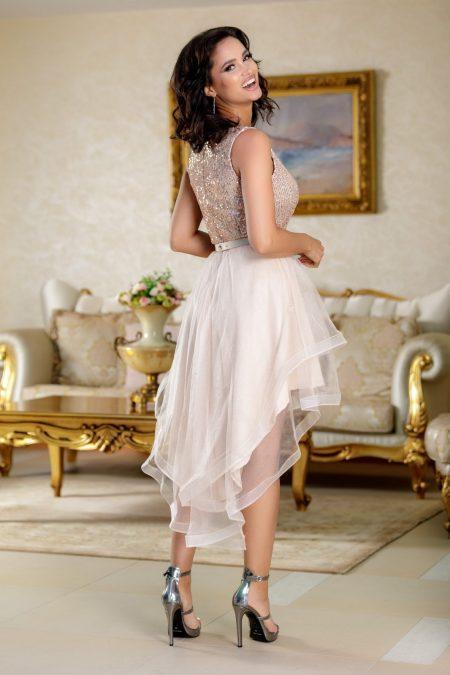 Queeny Nude Φόρεμα 4806