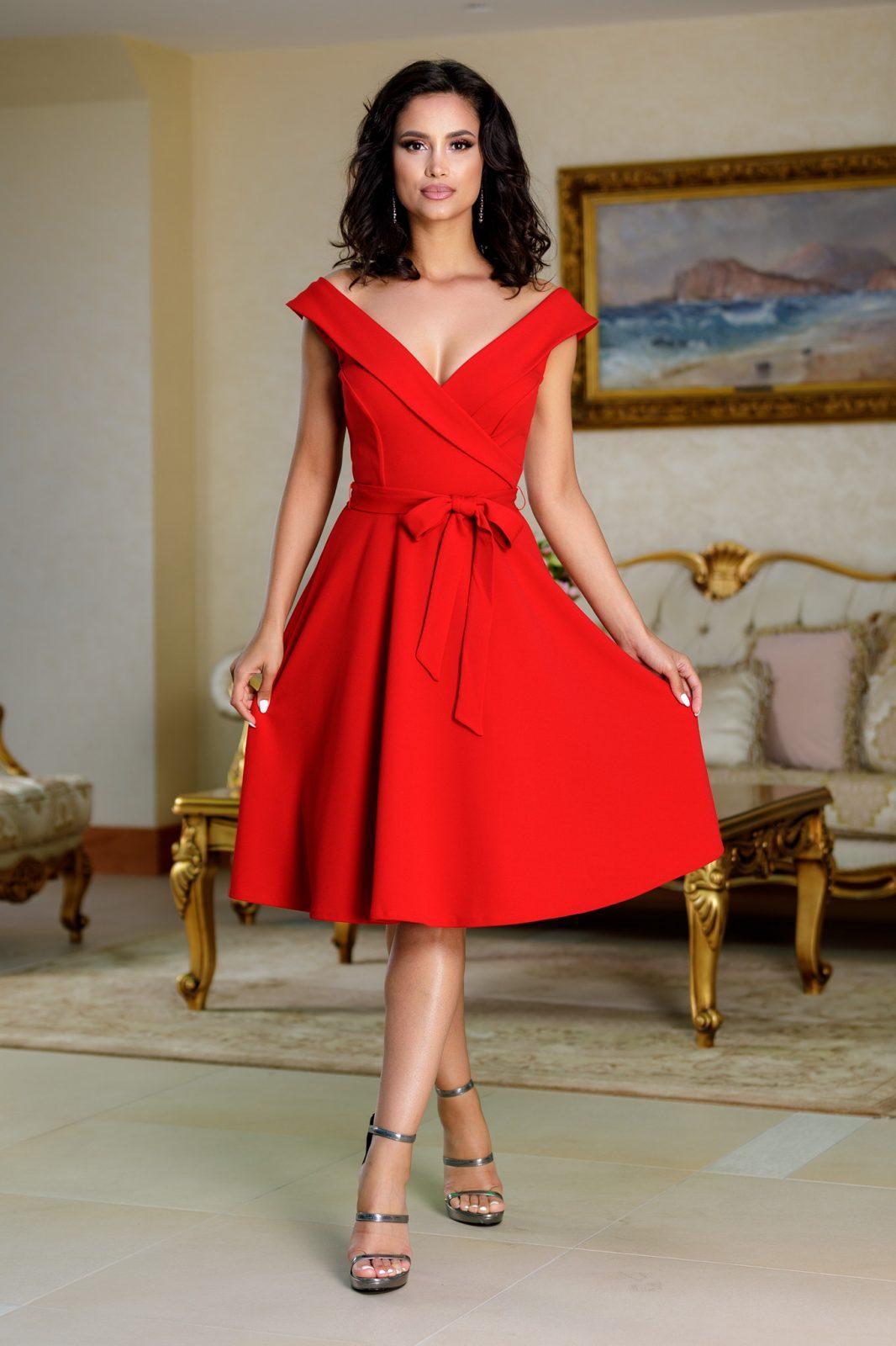 Minerva Red Dress