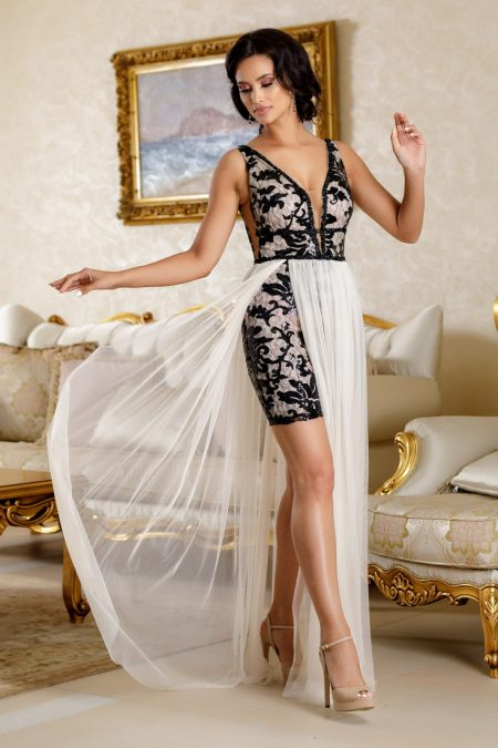 Daphne Nude Dress