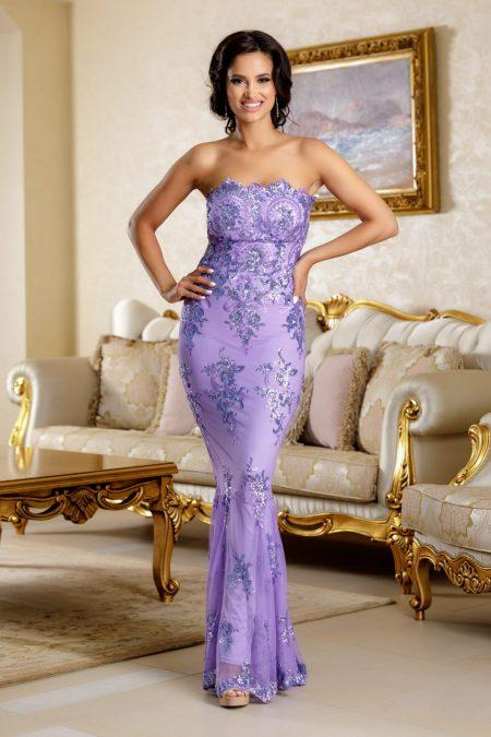 Yudith Lilac Dress
