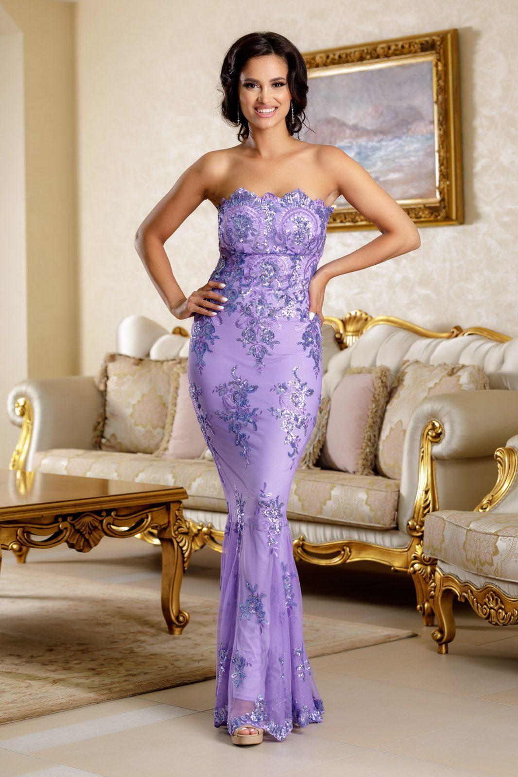 Yudith Lilac Dress