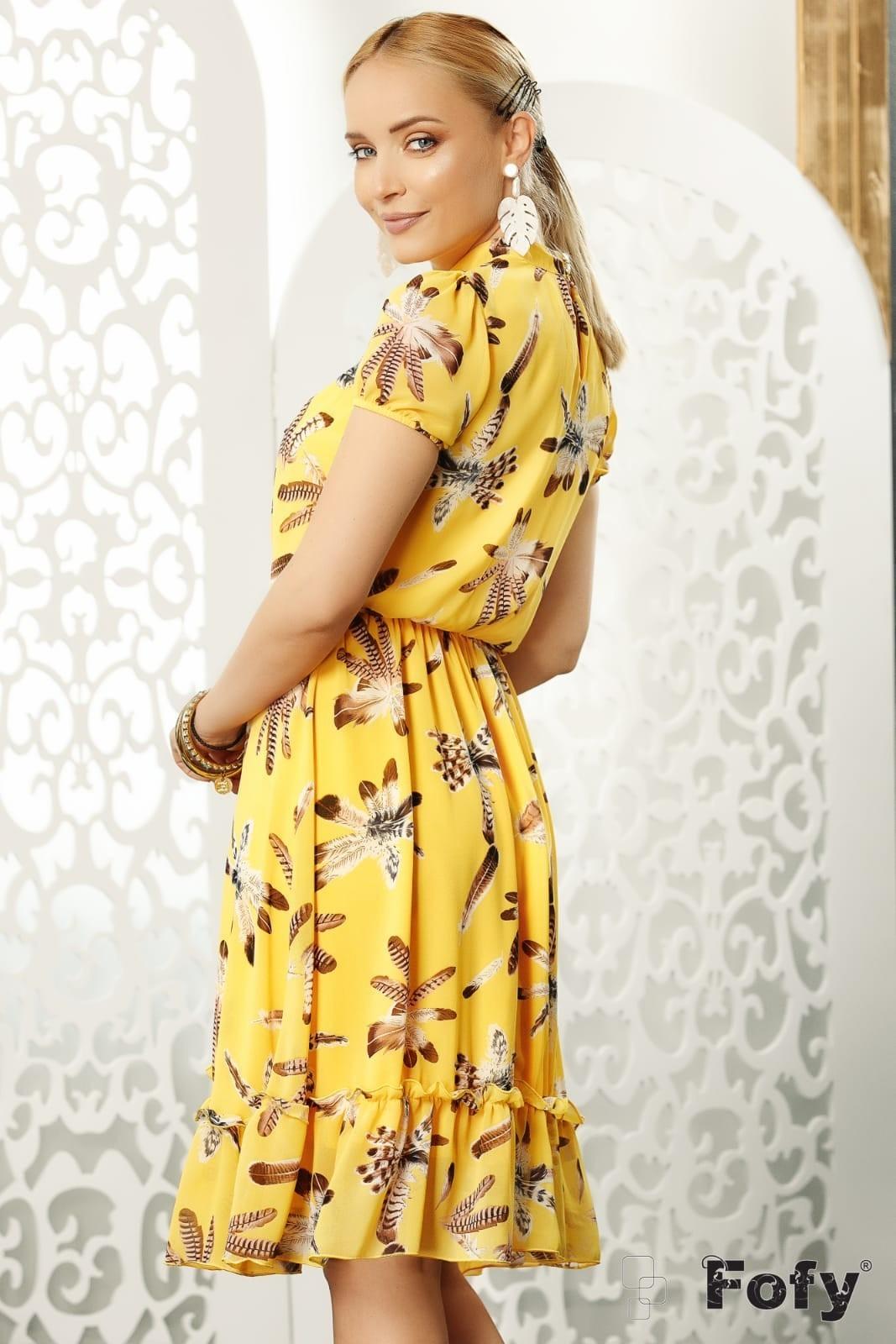 Relly Κίτρινο Φόρεμα 4678