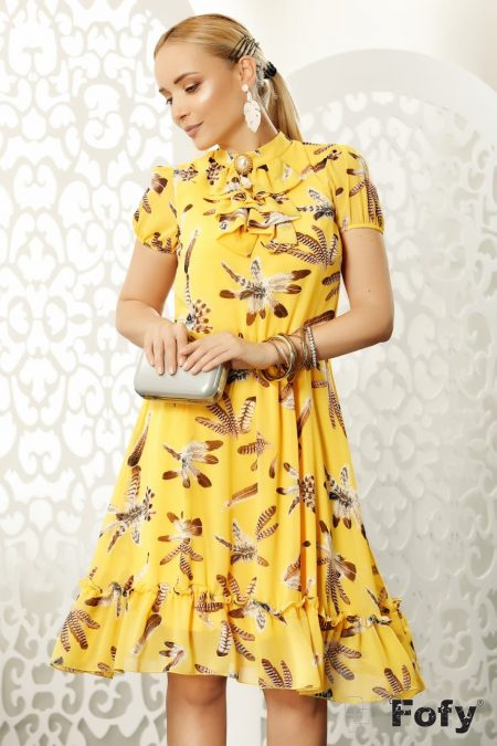 Relly Yellow Dress