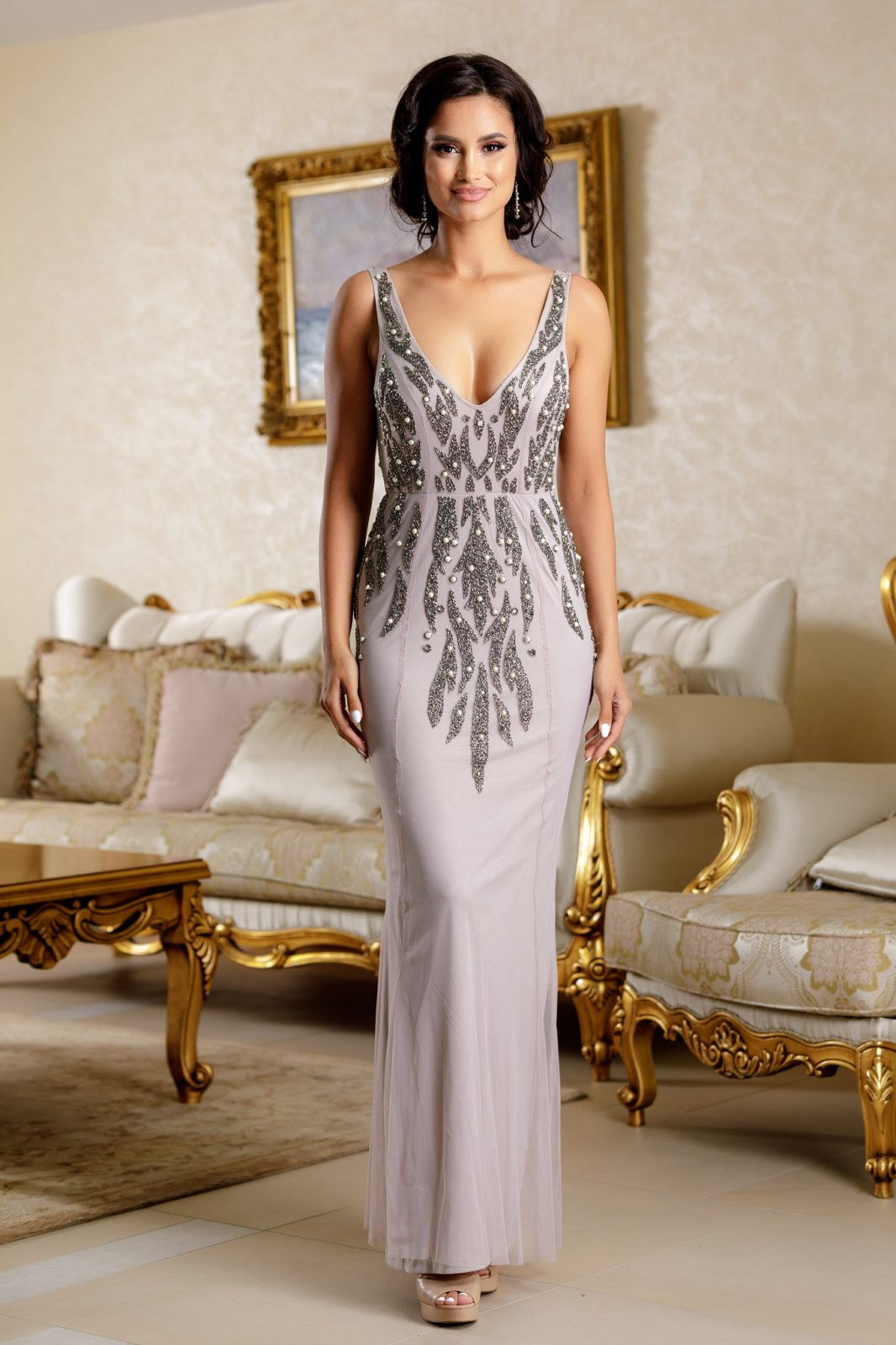Divine Gray Dress