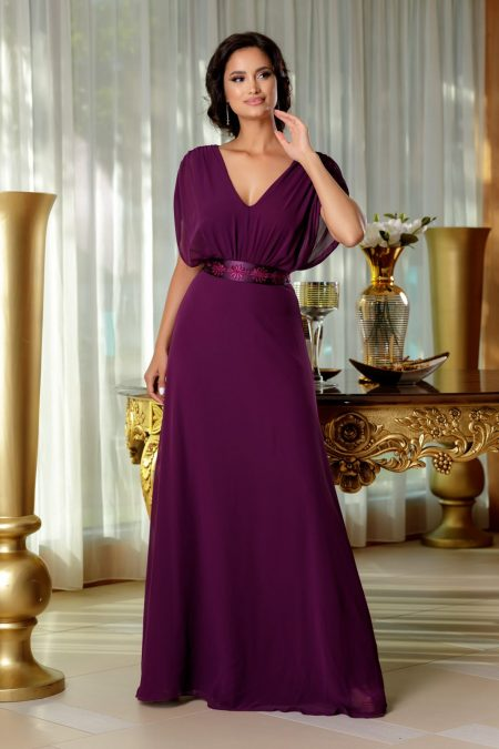 Madeyra Purple Dress