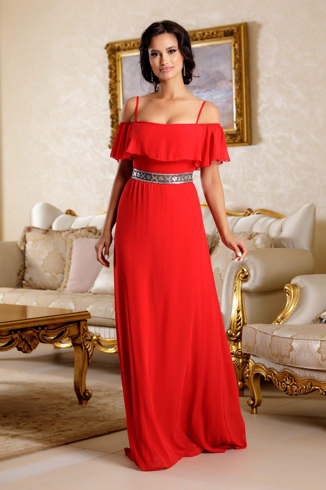 Carolyne Red Dress