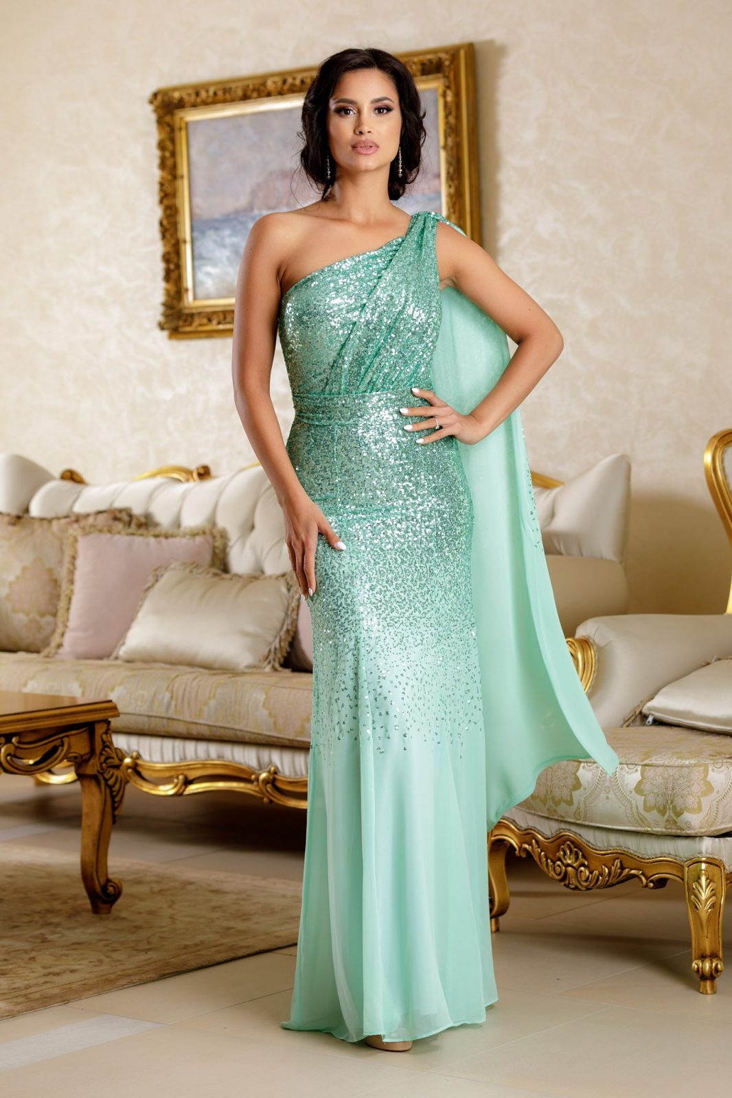 Julietta Mint Dress