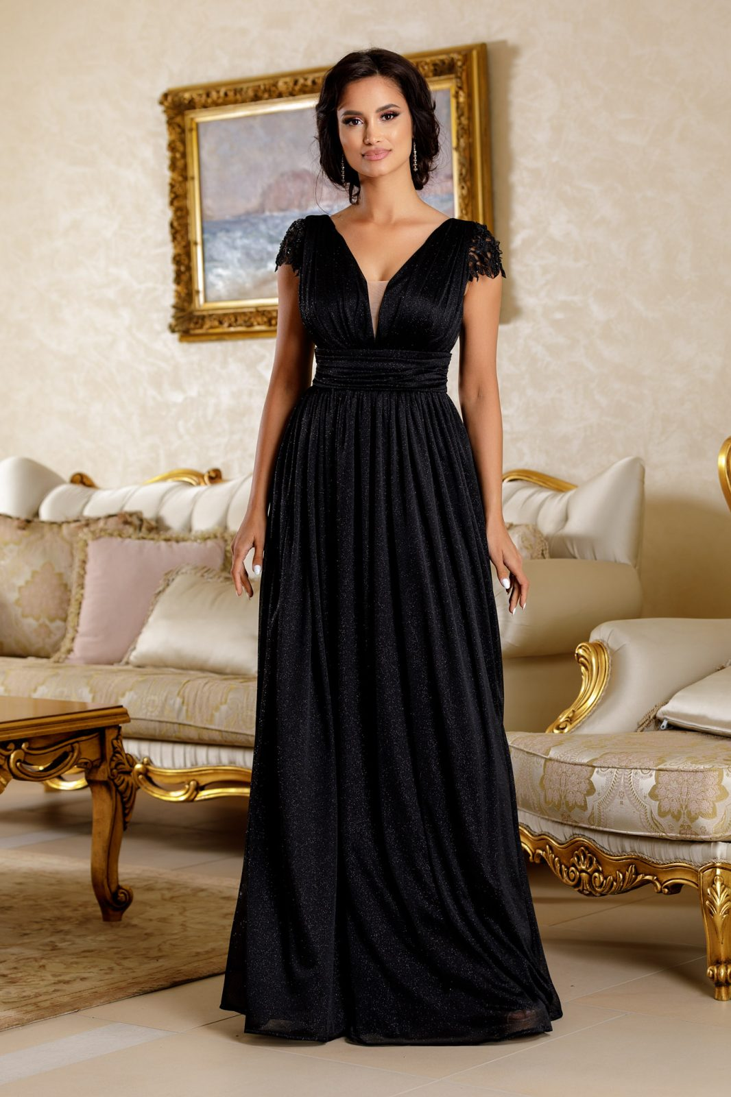 La Donna Beauty Μαύρο Φόρεμα 4787
