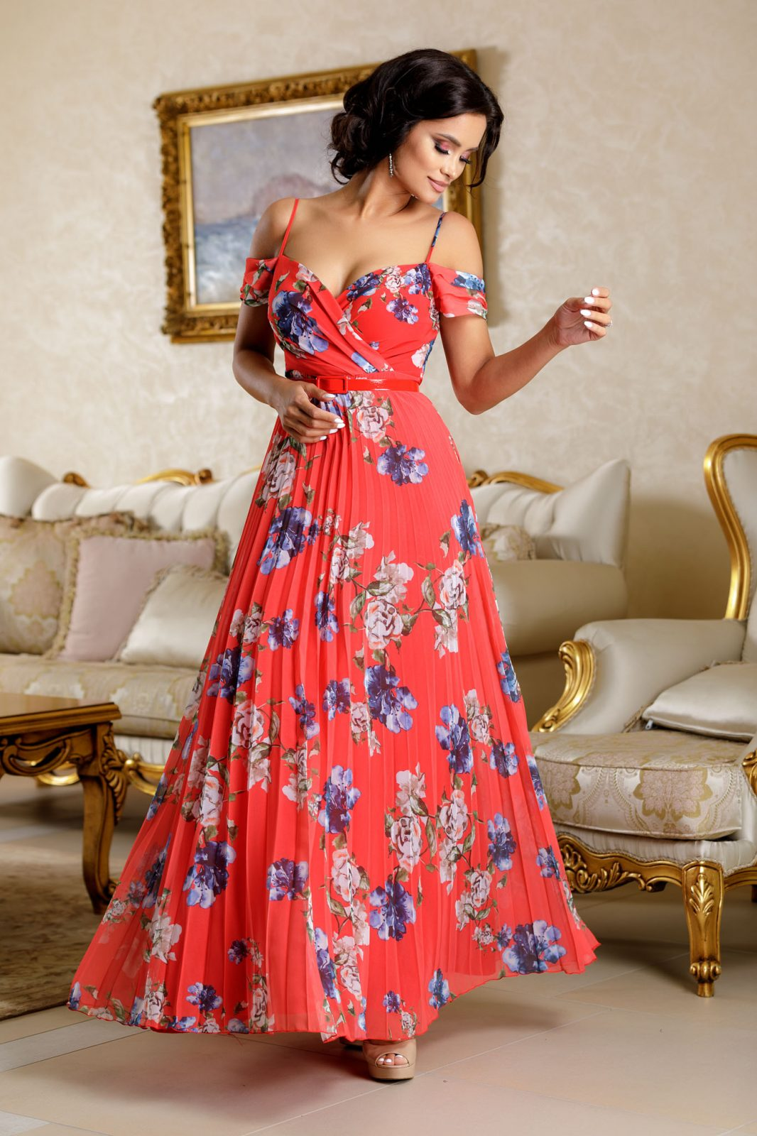 Hellen Red Dress