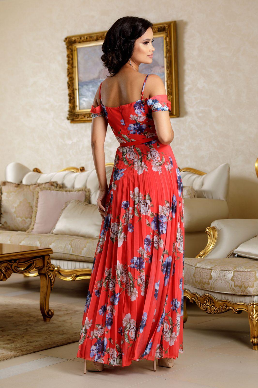 Hellen Κόκκινο Φόρεμα 4725