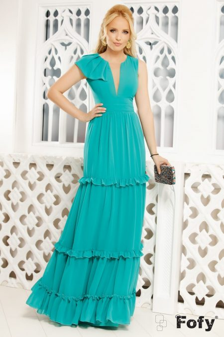 Rapsody Turquoise Dress