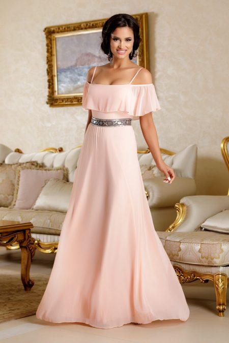 Carolyne Peach Dress