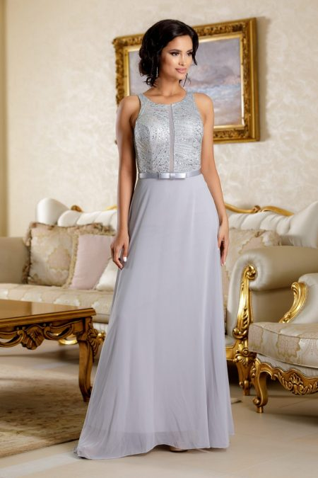Flaminia Gray Dress