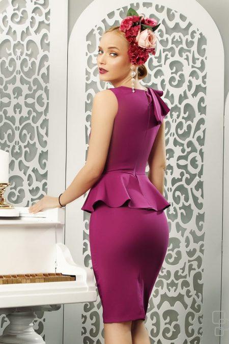 Clarissa Μωβ Φόρεμα 4851