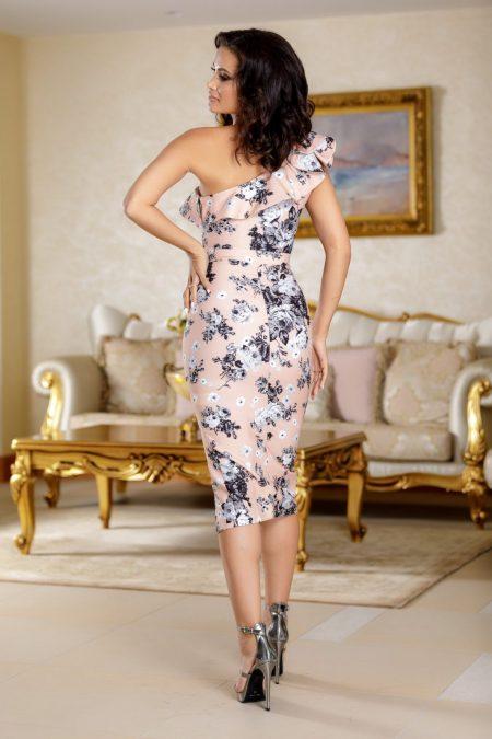 Scarlett Floral Φόρεμα 4712