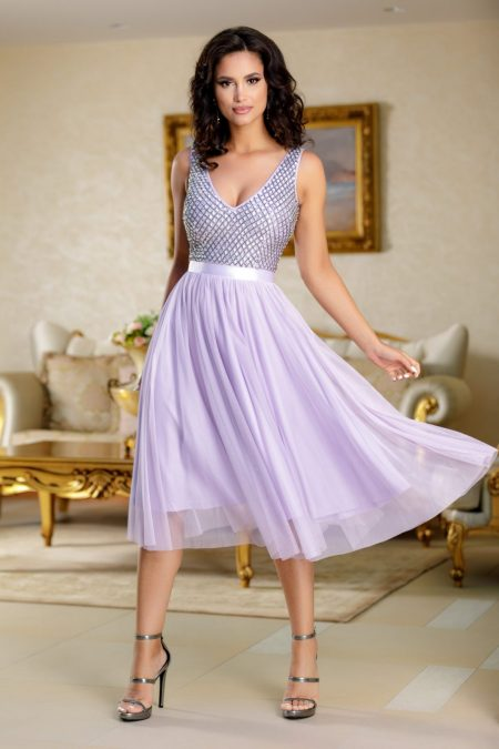 Sweetheart Lilac Dress