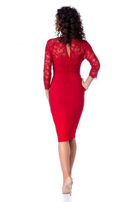 Arra Κόκκινο Φόρεμα 4685