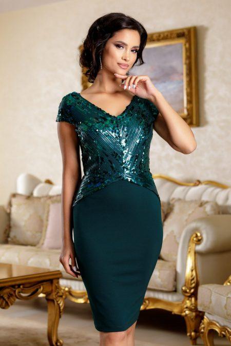 Viviane Green Dress