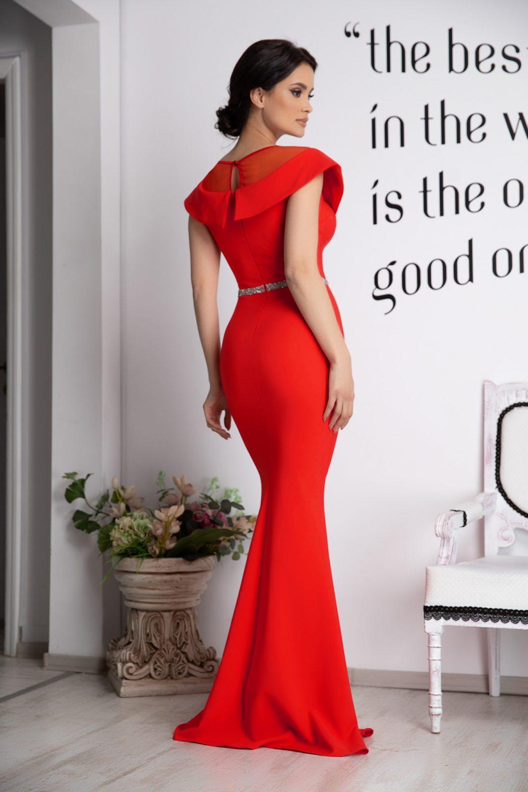 Vibrating Κόκκινο Φόρεμα 4790