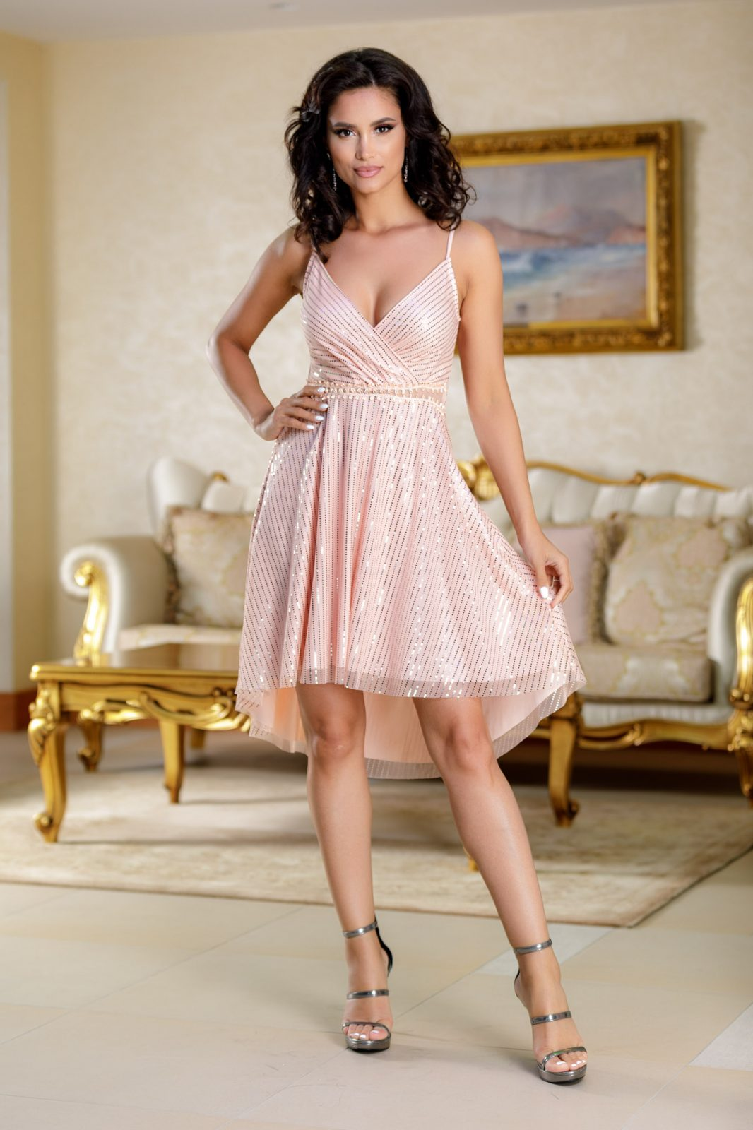 Meryem Peach Dress