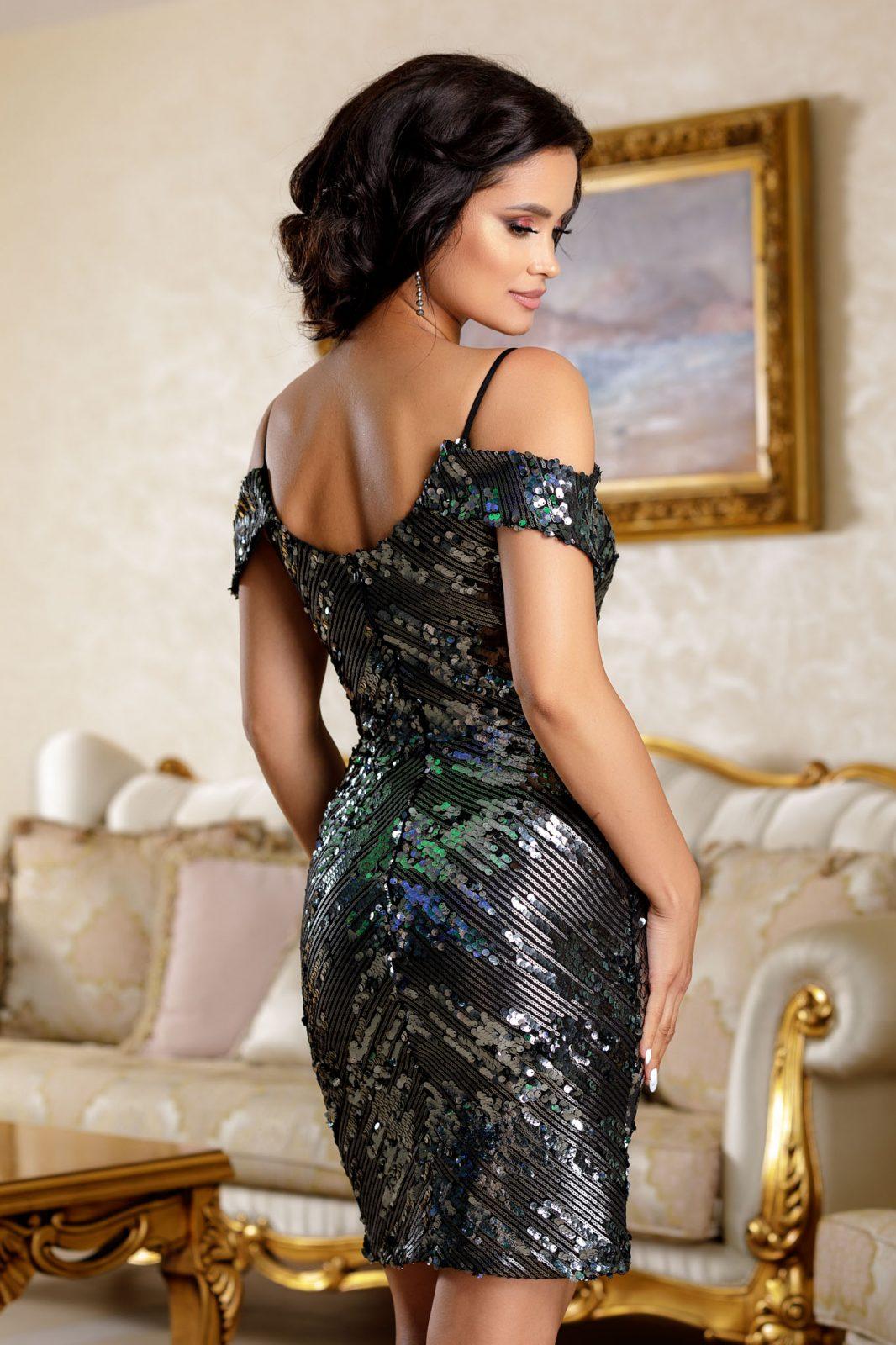 Noemya Γκρι Φόρεμα 4822