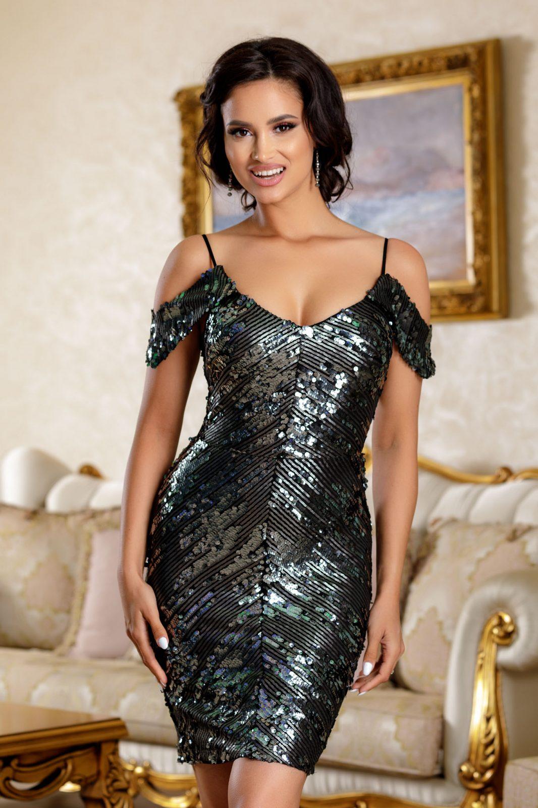 Noemya Gray Dress