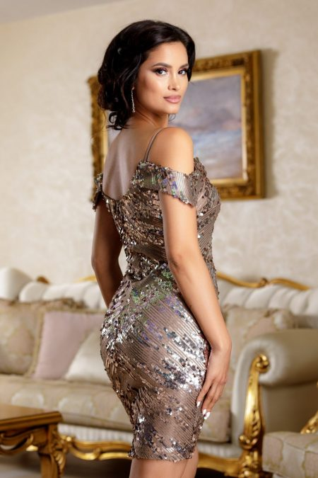 Noemya Nude Φόρεμα 4728