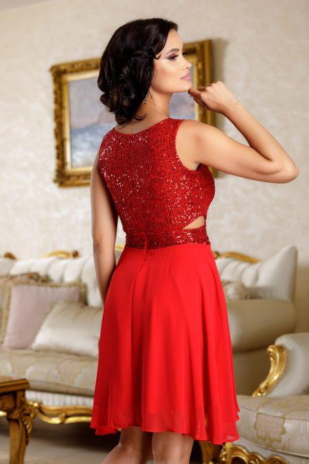 Aydin Κόκκινο Φόρεμα 4823