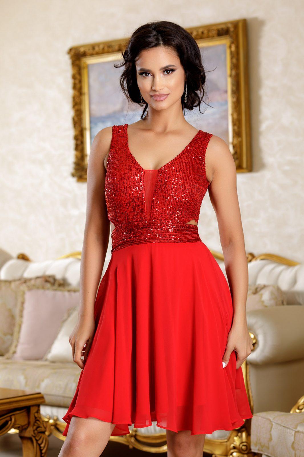 Aydin Red Dress