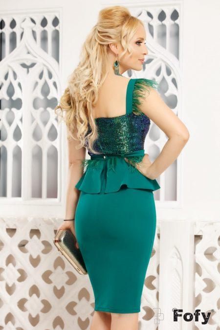 Lorra Πράσινο Φόρεμα 4814