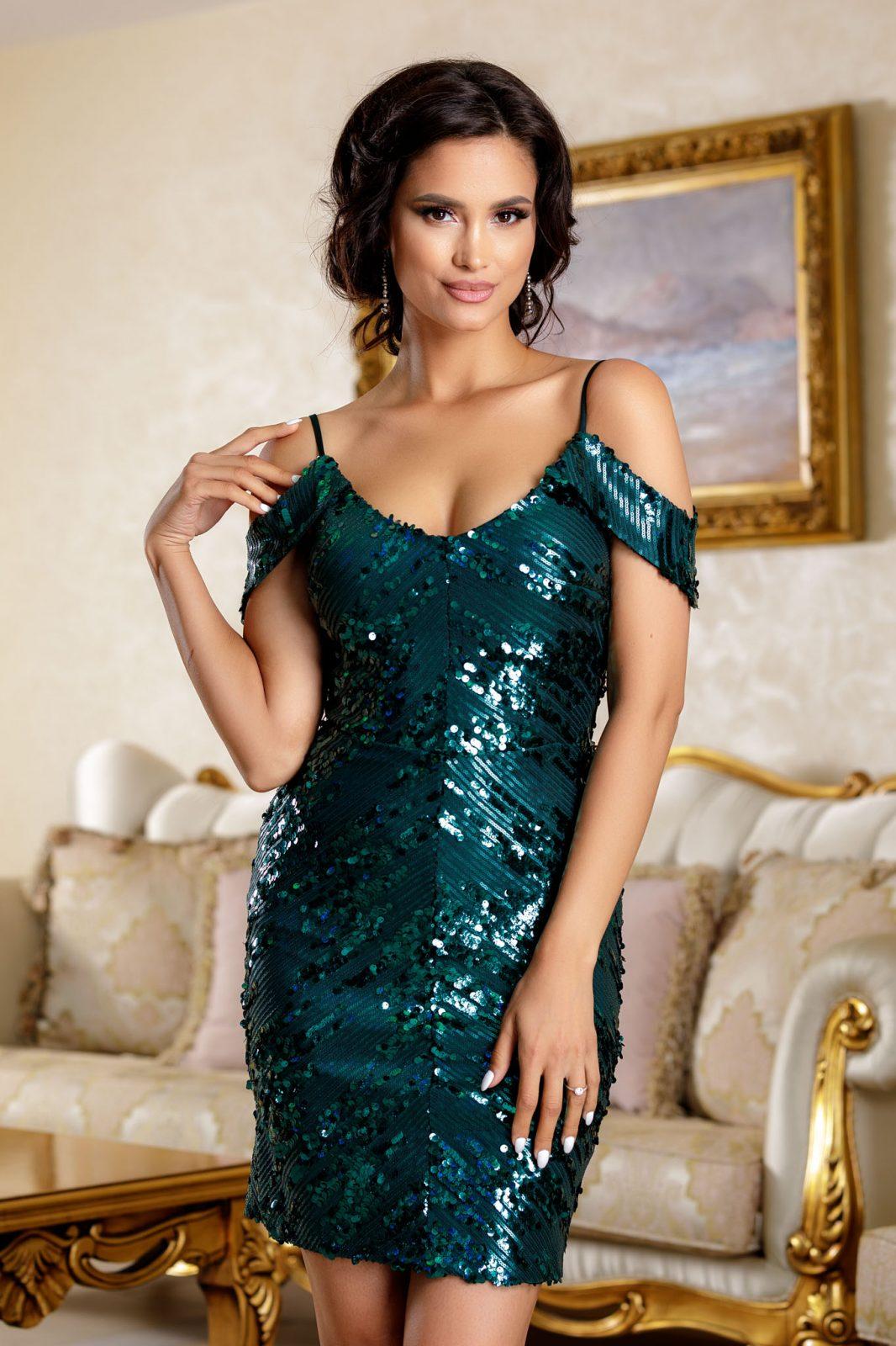 Noemya Green Dress