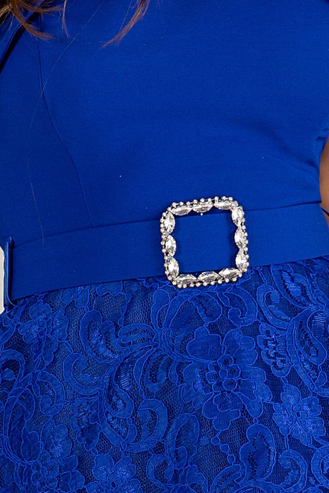 Denisse Royal Μπλε Φόρεμα 4900
