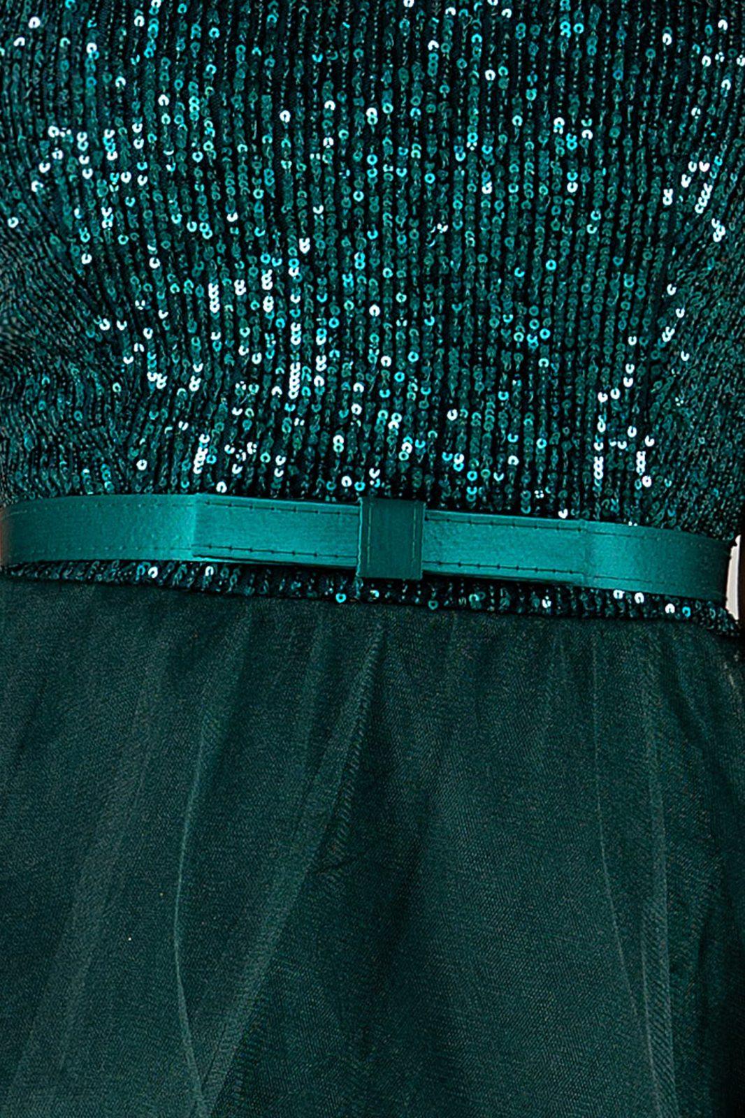 Queeny Πράσινο Φόρεμα 4901