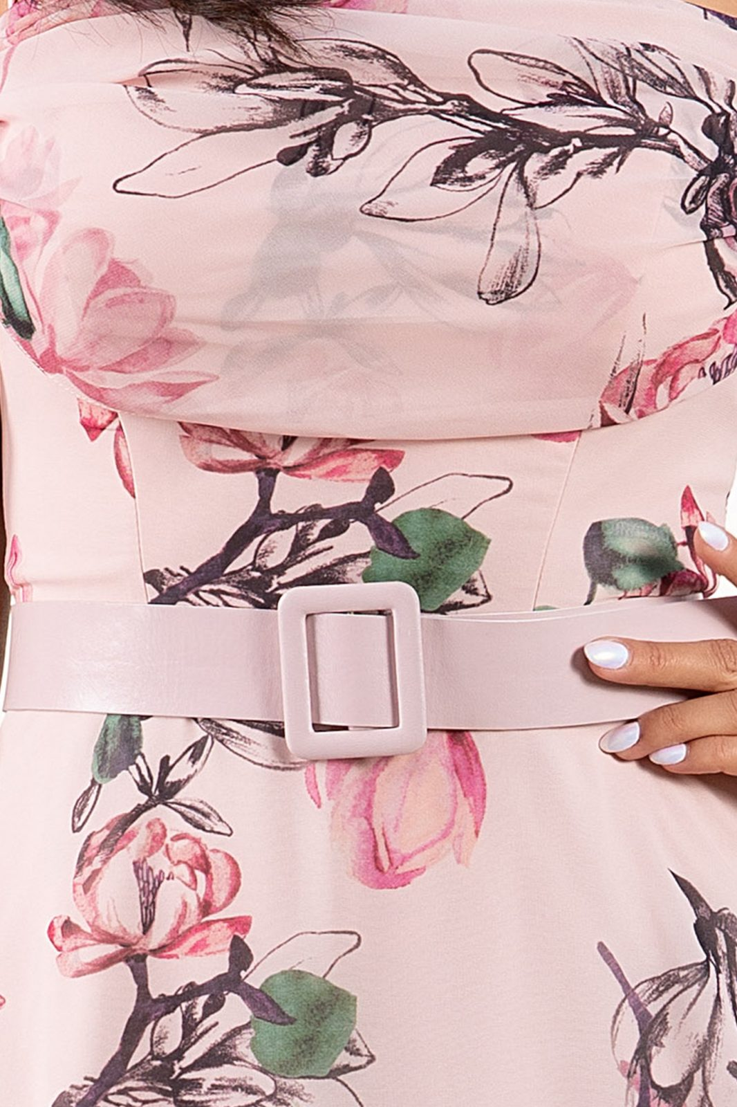 Anemone Ροζ Φόρεμα 4928
