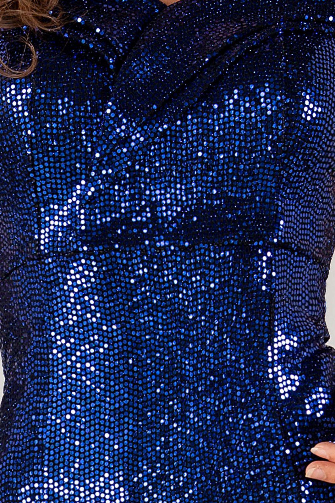 Seductive Royal Μπλε Φόρεμα 4922