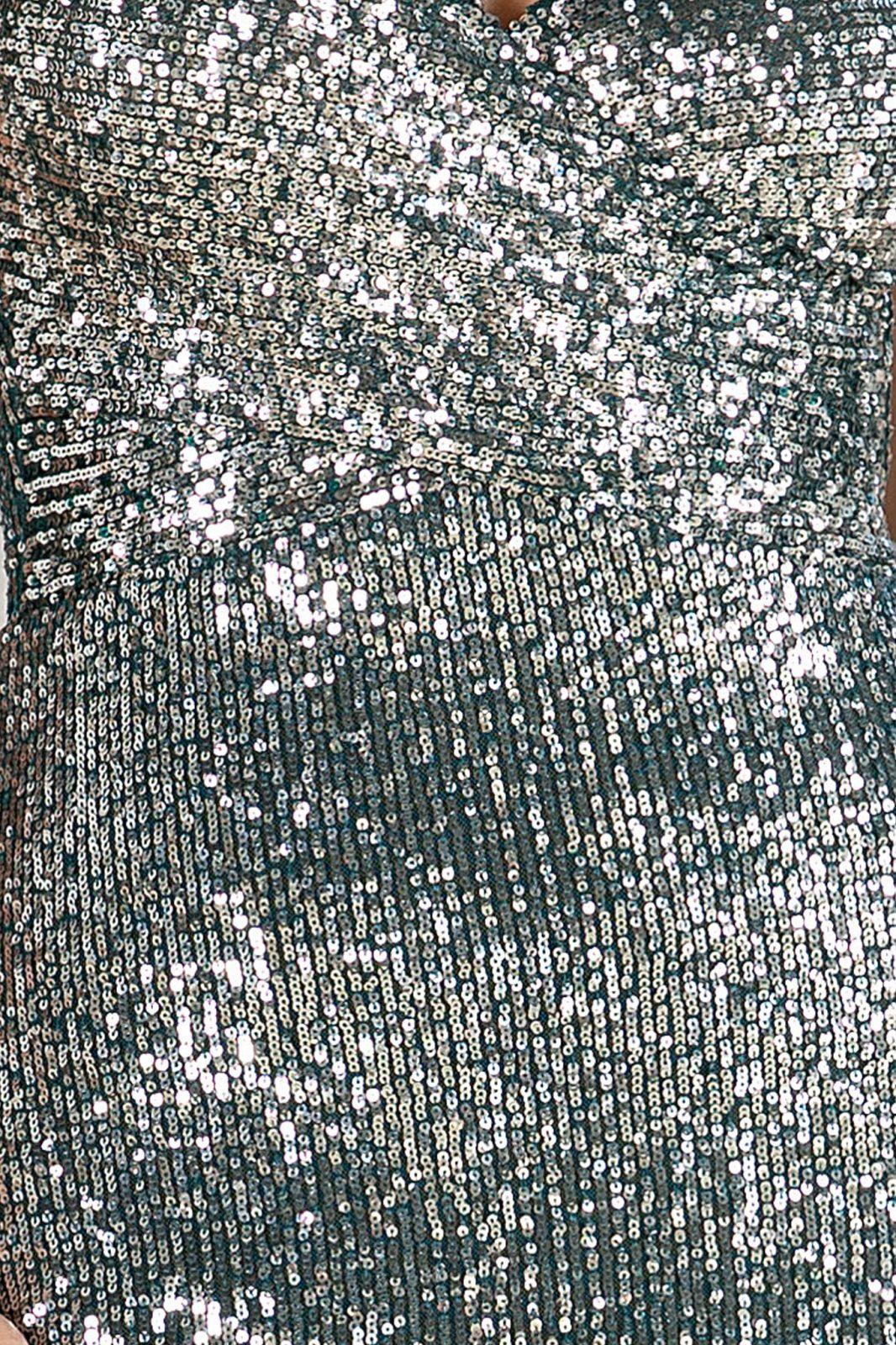 Πράσινο Maxi Φόρεμα Sensual 4871