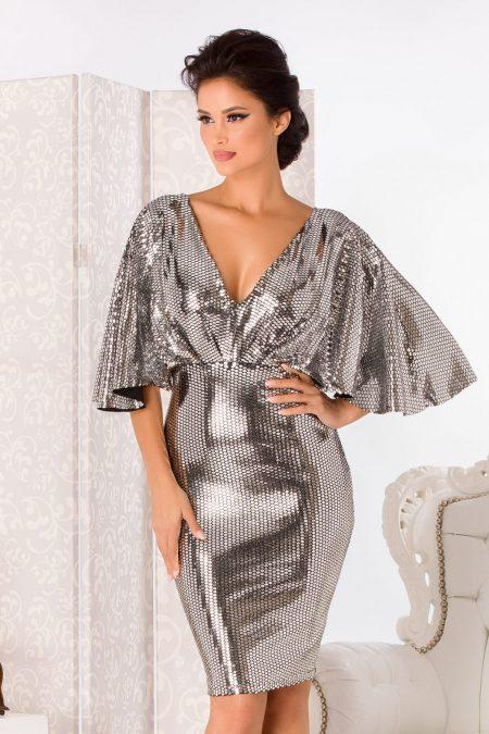 Herra Silvery Dress