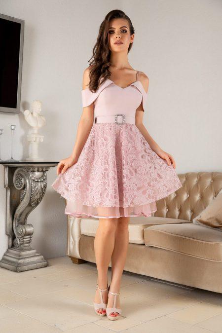 Denisse Rose Dress