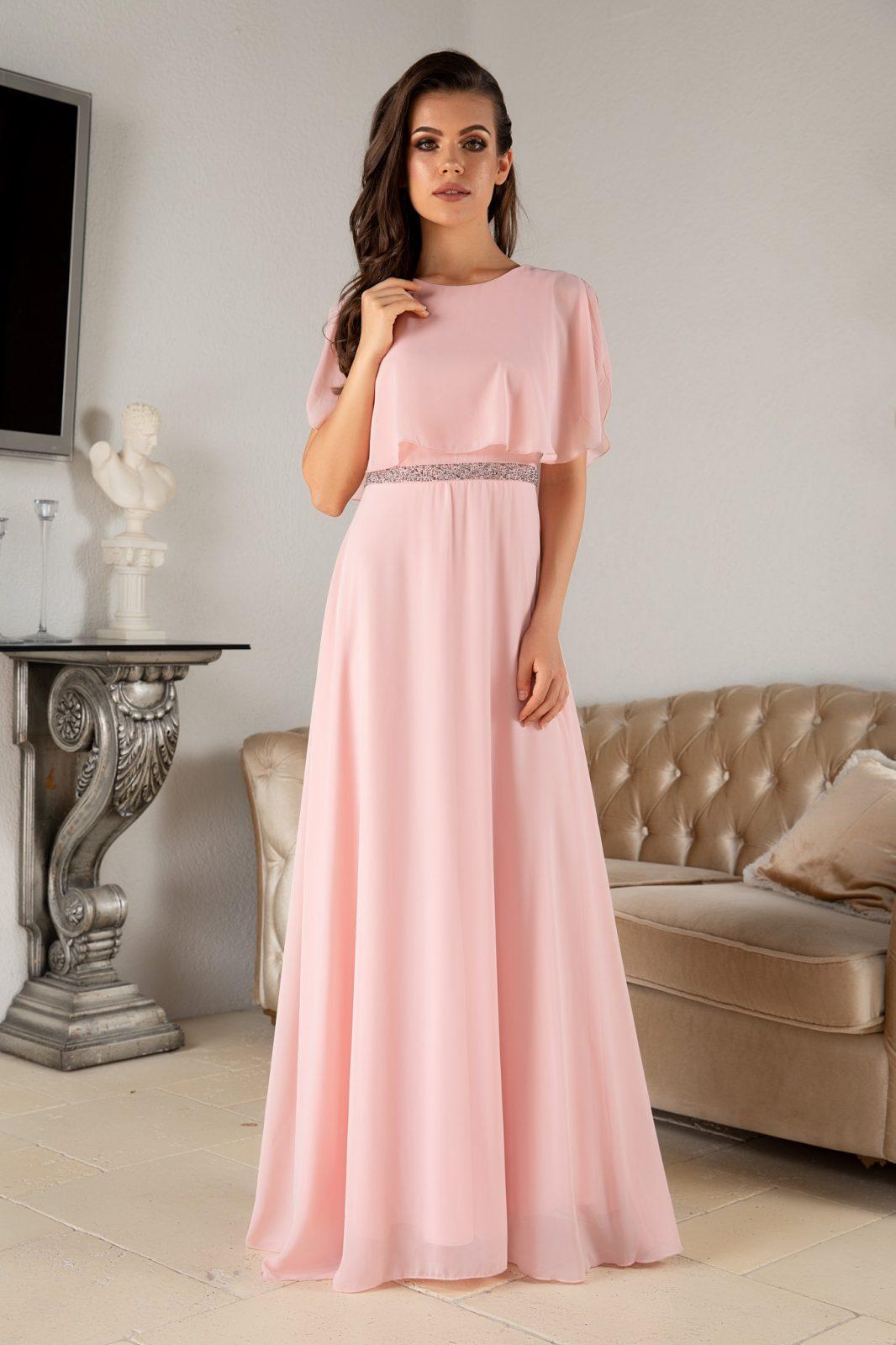Giovanna Peach Dress