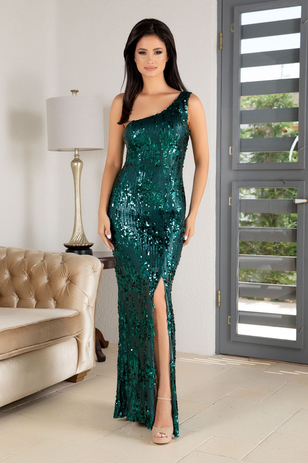 Tiarra Green Dress