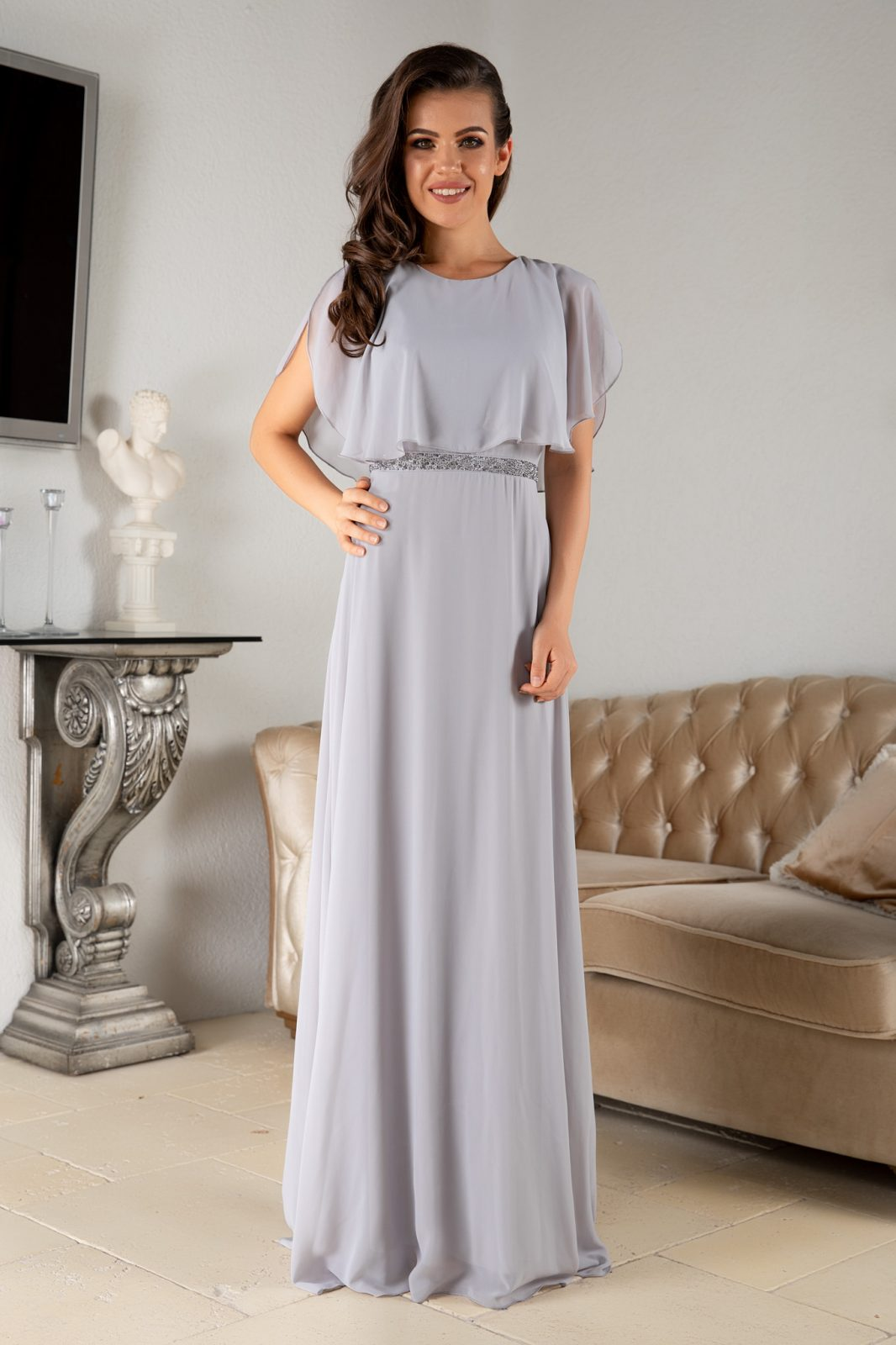 Giovanna Gray Dress
